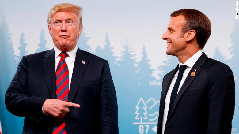 President Trump is planning to depart the G7 ahead of climate change talks