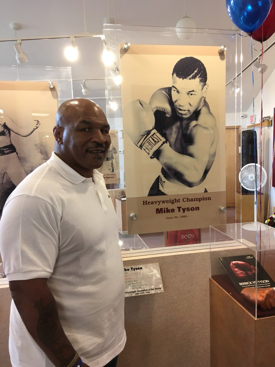 I'm back in #Canastoga #InternationalBoxingHallofFame to honor #2018inductees https://t.co/rczY6aELdL