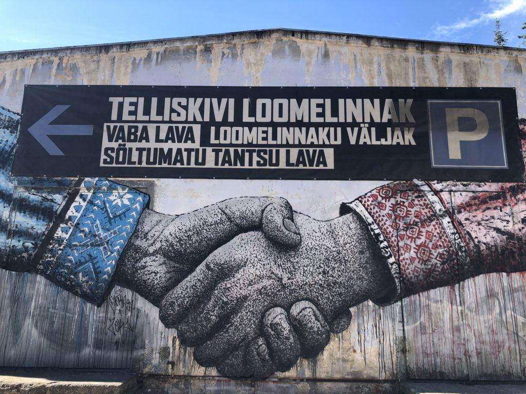 So much fun at the food festival yesterday in @VisitTallinn - great event! 🍽 #Tallinn @visitestonia https://t.co/zB7IwKLjXb