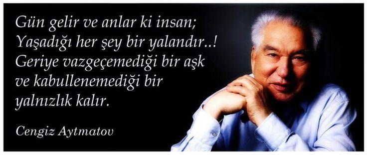 RT @merih_halat: Dünya Edebiyatı ve Türk Dünyası seni unutmayacak. #CengizAytmatov https://t.co/2Mrn5UJ56Q