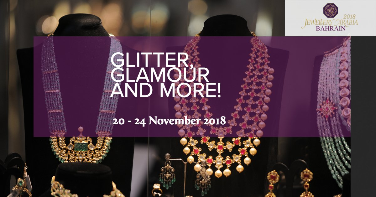 test Twitter Media - In less than 6 months, yet another exciting #JewelleryArabia will be open for all~  Some of the biggest jewellery & watch brands will set the stage on fire with their trendy designs and absolute must-haves!  Is your pulse racing? https://t.co/H5Z1kL4bGG