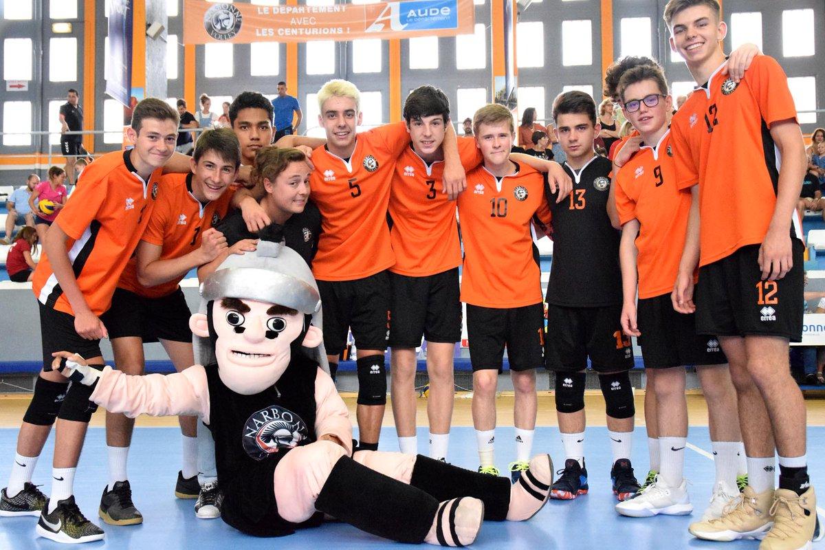 Comme l'an dernier, les cadets @FFvolley  sont champions de la Ligue @Occitanie...