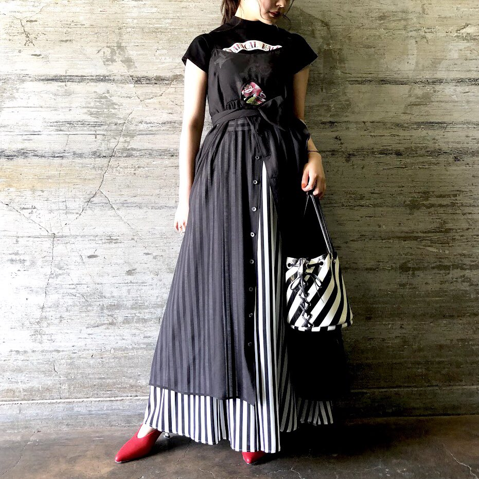 RT @gvgv_official: 本日はオーガンジー素材のキャミドレスをご紹介。  ◼︎ ORGANZA CAMI DRESS  k3 ONLINE STORE↓ https://t.co/eBqsQQW0Ps  #gvgv https://t.co/2EUoCPSUi6