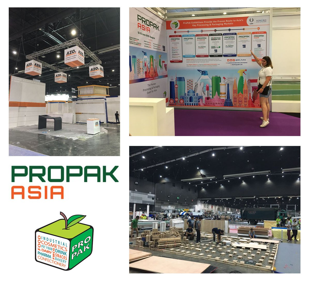 test Twitter Media - ProPak Asia build up is underway at BITEC! Be there from 13 - 16 June for all things Processing & Packaging #propak #propakasia #propakasia2018 #bitec #propakbuildup #seeyouthere https://t.co/GatrjUZY1m