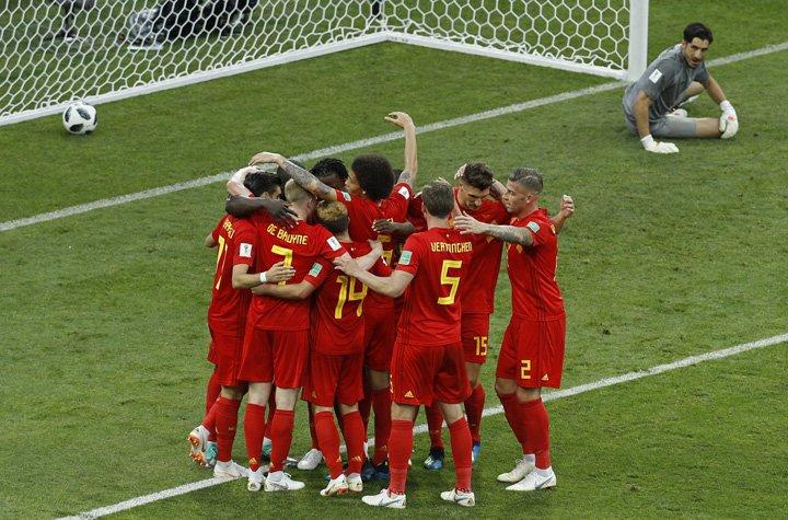 @BroadcastImagem: 'Geração de ouro' da Bélgica confirma fama e ganha de goleada do Panamá. Victor R. Caivano/AP