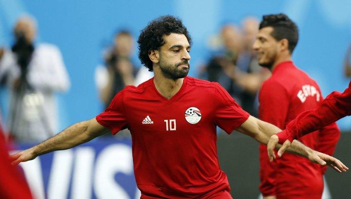 @BroadcastImagem: Jogo contra a anfitriã Rússia deverá marcar a estreia do egípcio Salah na Copa do Mundo. Efrem Lukatsky/AP
