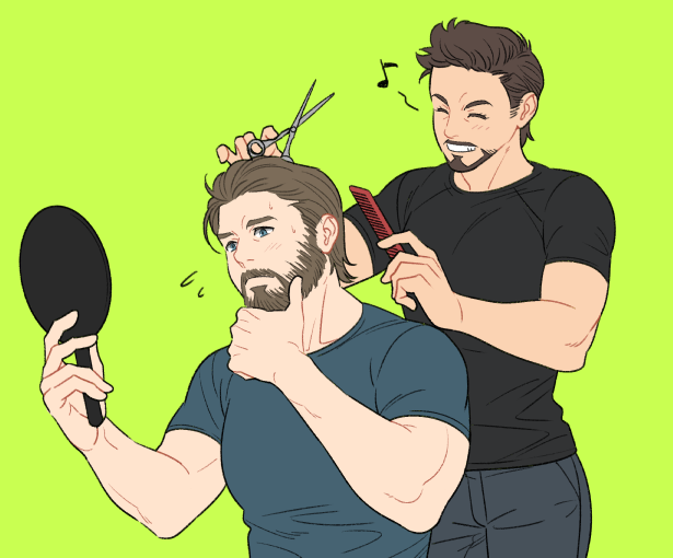 すごい髪形にされそう✂️