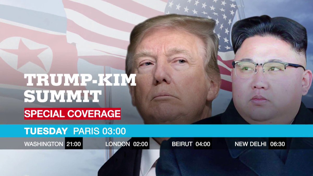 ?? Special coverage: Trump-Kim Summit
