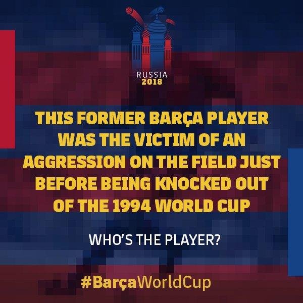 �� #BarçaWorldCup Stories, Part 11. �� Who is it? ���� #ForçaBarça https://t.co/hWNwap8t4B