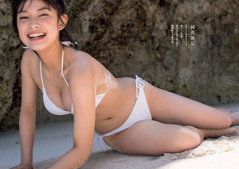 """【モデル】""""国民的美少女""""玉田志織(16)、初写真集で水着姿初披露「とても恥ずかしかったです」 YouTube動画>6本 ->画像>97枚"""