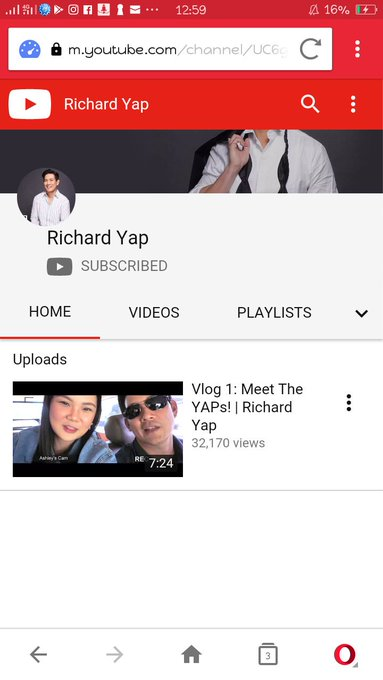 "Happy Birthday Sir Chief ""Richard Yap\"" more power & more blessings to come!"
