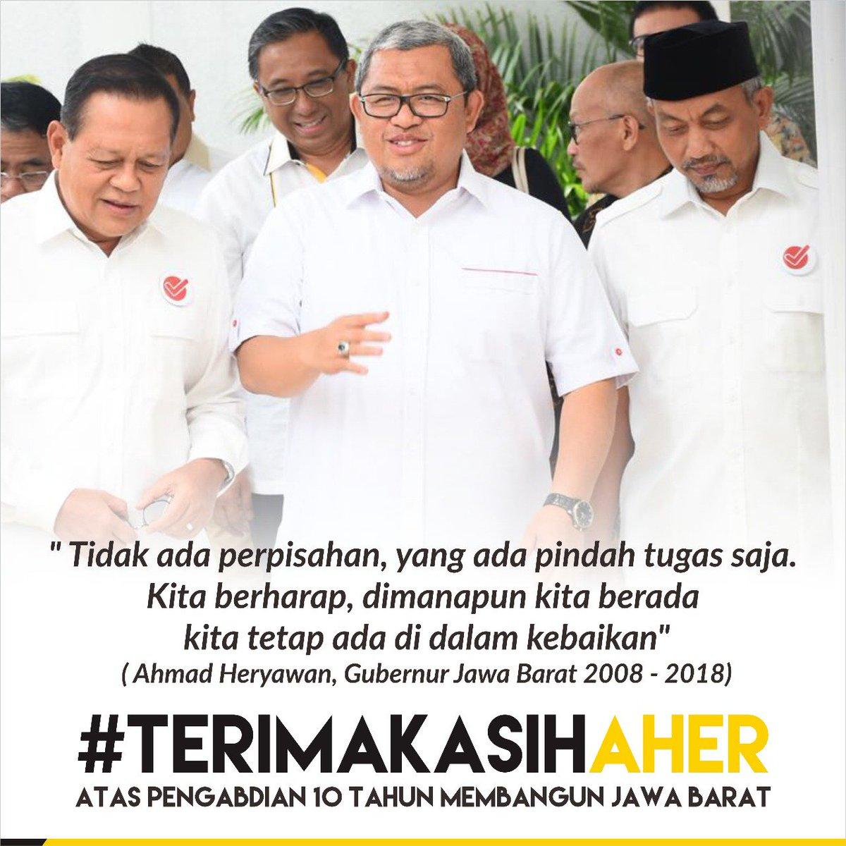 RT @gus_sugiarto: #TerimaKasihKangAher kami Bangga pada kqng @aheryawan 10 tahun mengabdi untuk Jawa Barat. https://t.co/py1U6wSc05