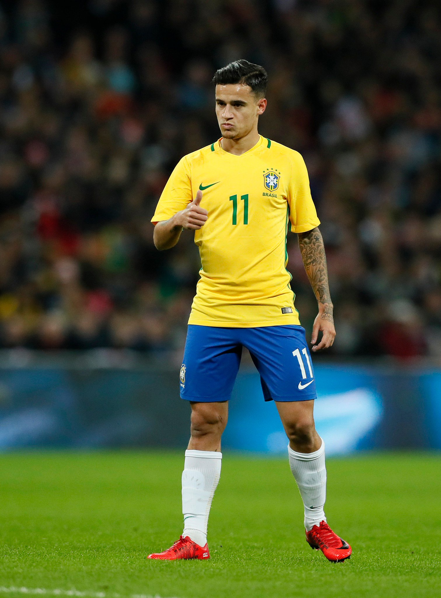 Happy birthday, Philippe Coutinho! Who thinks he can lead Brazil to World Cup glory this year...?!