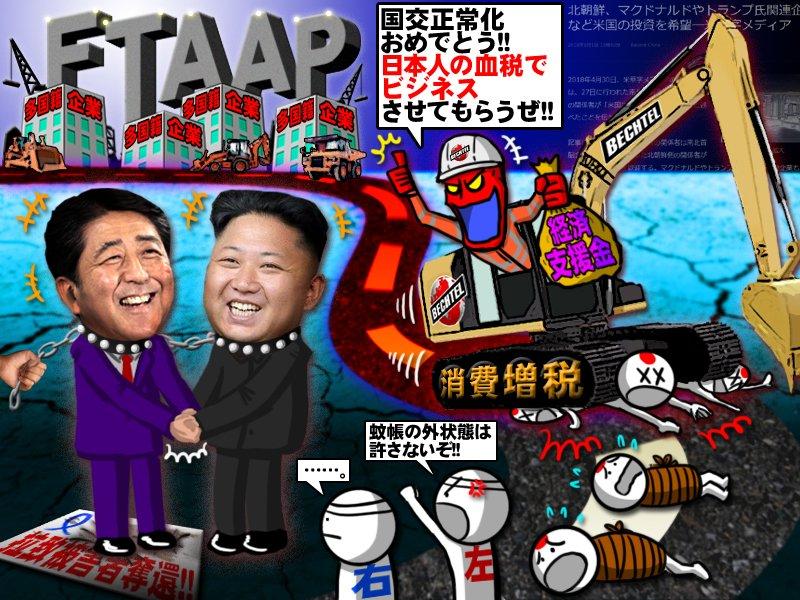 【悲報】トランプ大統領「日韓両国が北朝鮮への経済支援の用意があり、米国が支援する必要はないだろう」  [479913954]->画像>23枚