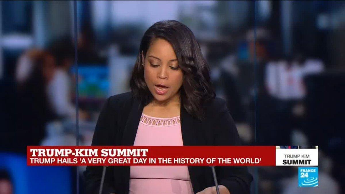?? Trump hails summit with Kim