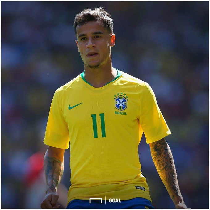 Happy 26th birthday to Brazil & Barcelona star Philippe Coutinho!