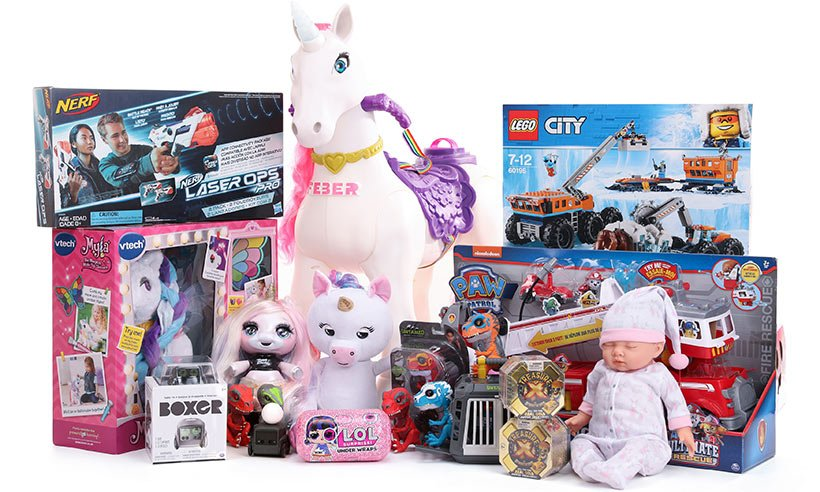 The top toys for Christmas have been revealed - with almost 200 shopping days to go!