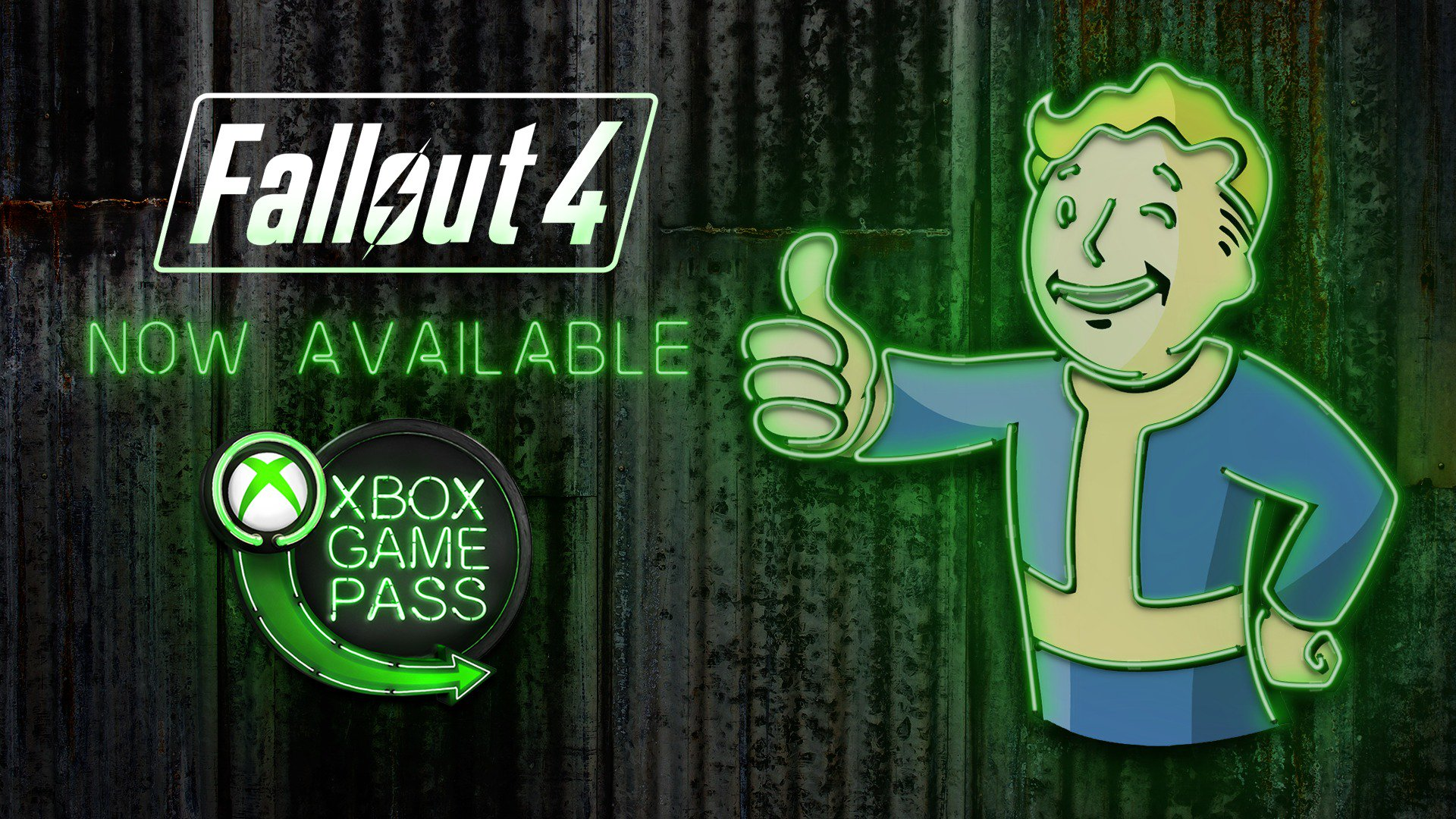 S.P.E.C.I.A.L. surprise for ya: Fallout 4 just dropped on Xbox Game Pass. Play it at https://t.co/IeOj0WbQB3 https://t.co/MzmgMySUyE