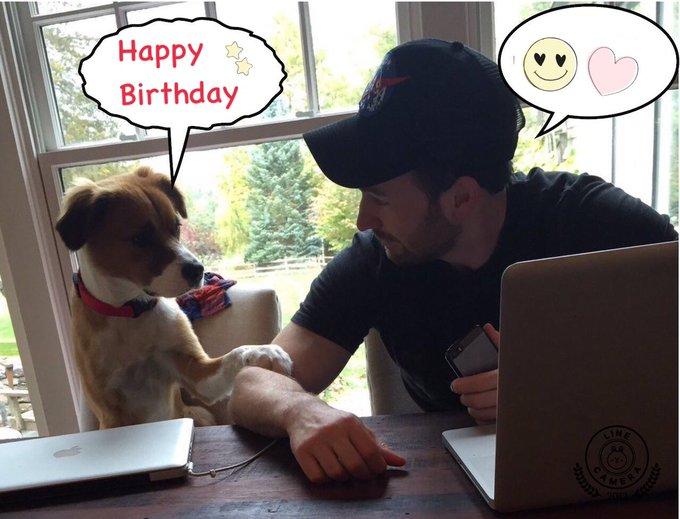 *´ `*                                                    Happy Birthday Chris Evans