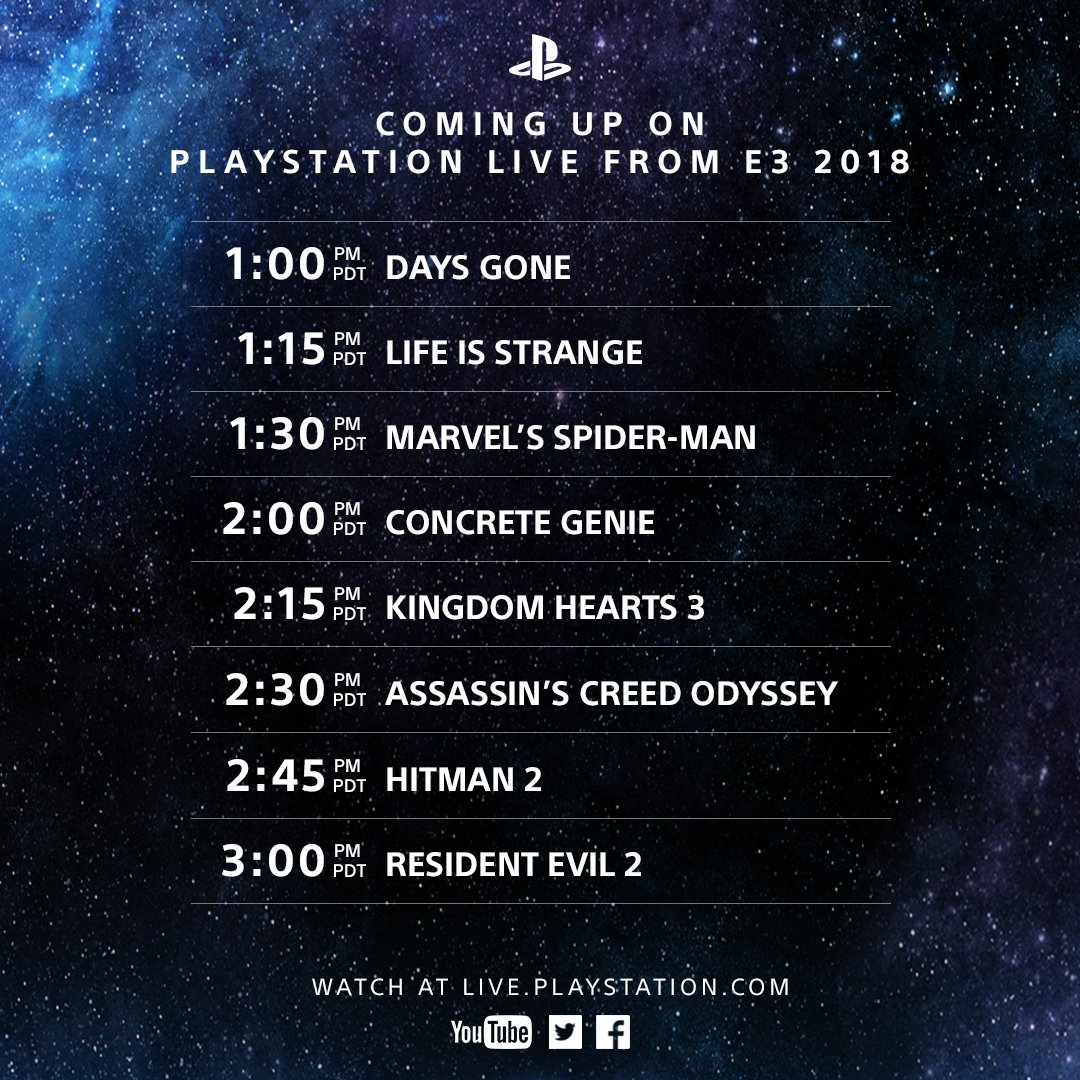 Spyro is next, live from E3! We have games streaming all day long. Watch: https://t.co/6WGSKH0BS1 https://t.co/l5QoBhj10y