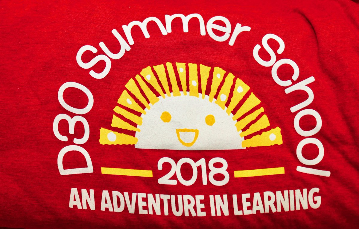 "test Twitter Media - On the first day (6/12), 350 District 30 students attending Summer School classes at Willowbrook had bright smiles on their faces, complementing this year's t-shirt logo, a sunny smiley face touting the theme ""An Adventure in Learning."" https://t.co/wjOdD423uE #d30learns https://t.co/OcfjgOTUIg"