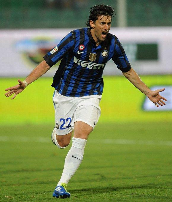 Happy birthday Diego Milito(born 12.6.1979)