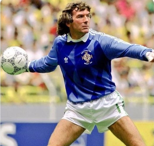 Massive Happy Birthday wishes from all at Newry City AFC to local football legend Pat Jennings