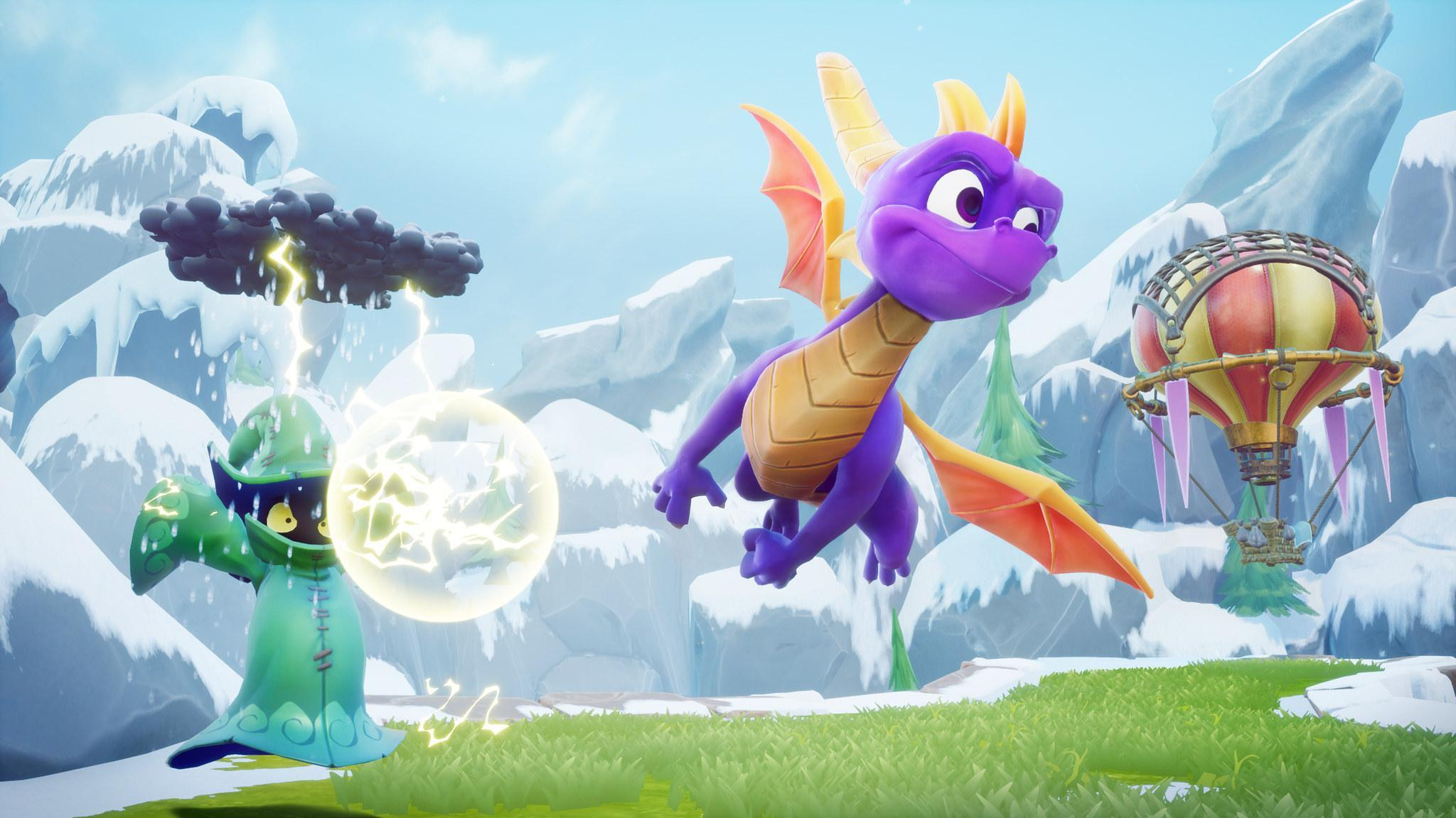 First Spyro: Reignited Trilogy gameplay revealed at #E32018, and it looks ������ https://t.co/s6attZyMfr https://t.co/PfEMtY49Pk
