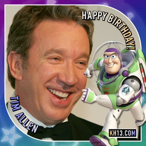 To infinity and beyond! Happy 53rd birthday to Tim Allen (born...
