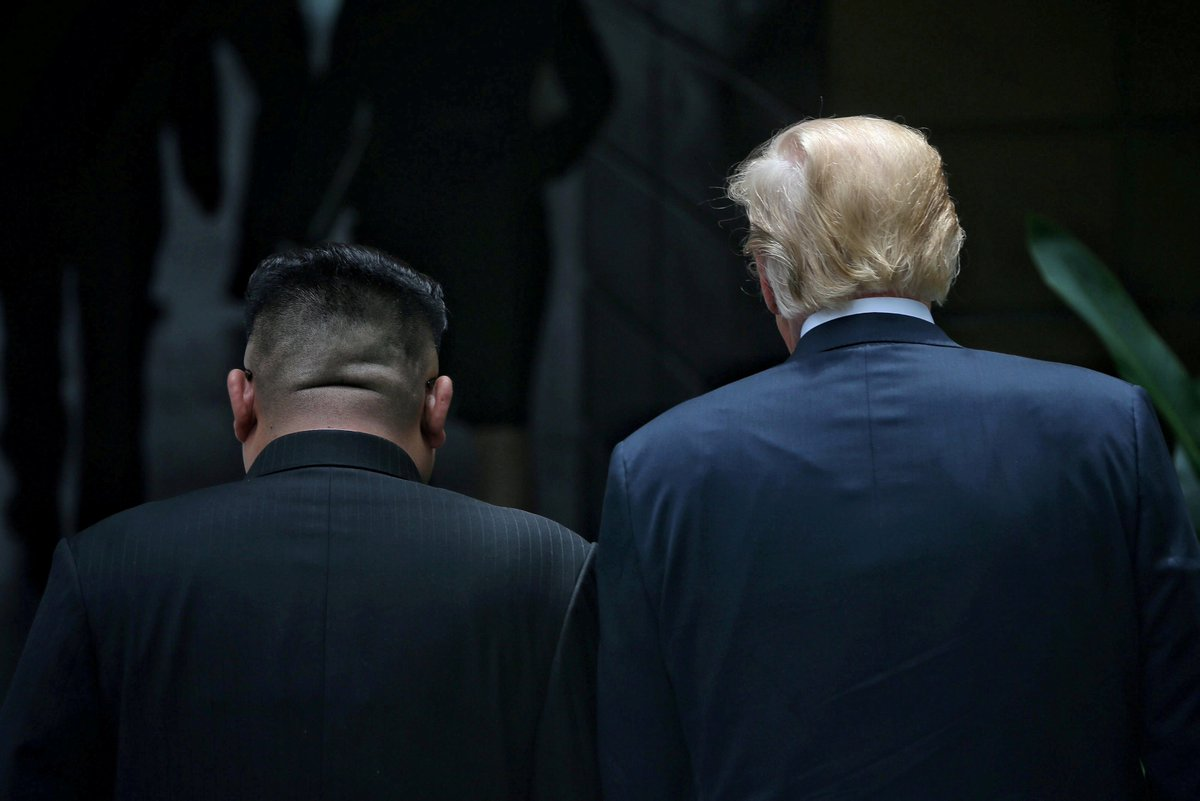The 'film trailer' Trump made for Kim