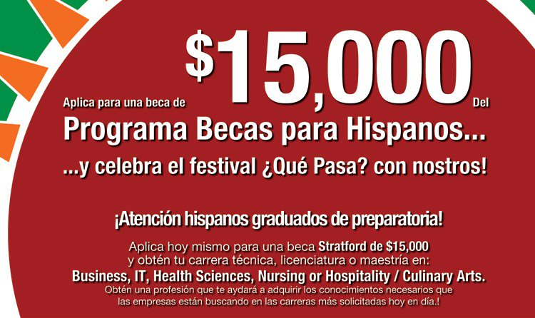 test Twitter Media - Beca de Stratford University por $15,000 para estudiantes Hispanos/Latinos https://t.co/Upkho9kSXU https://t.co/NFZR2xqik7