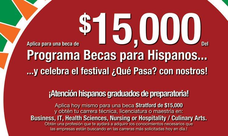 test Twitter Media - Beca de Stratford University por $15,000 para estudiantes Hispanos/Latinos https://t.co/Upkho9kSXU https://t.co/NFZR2xqik7