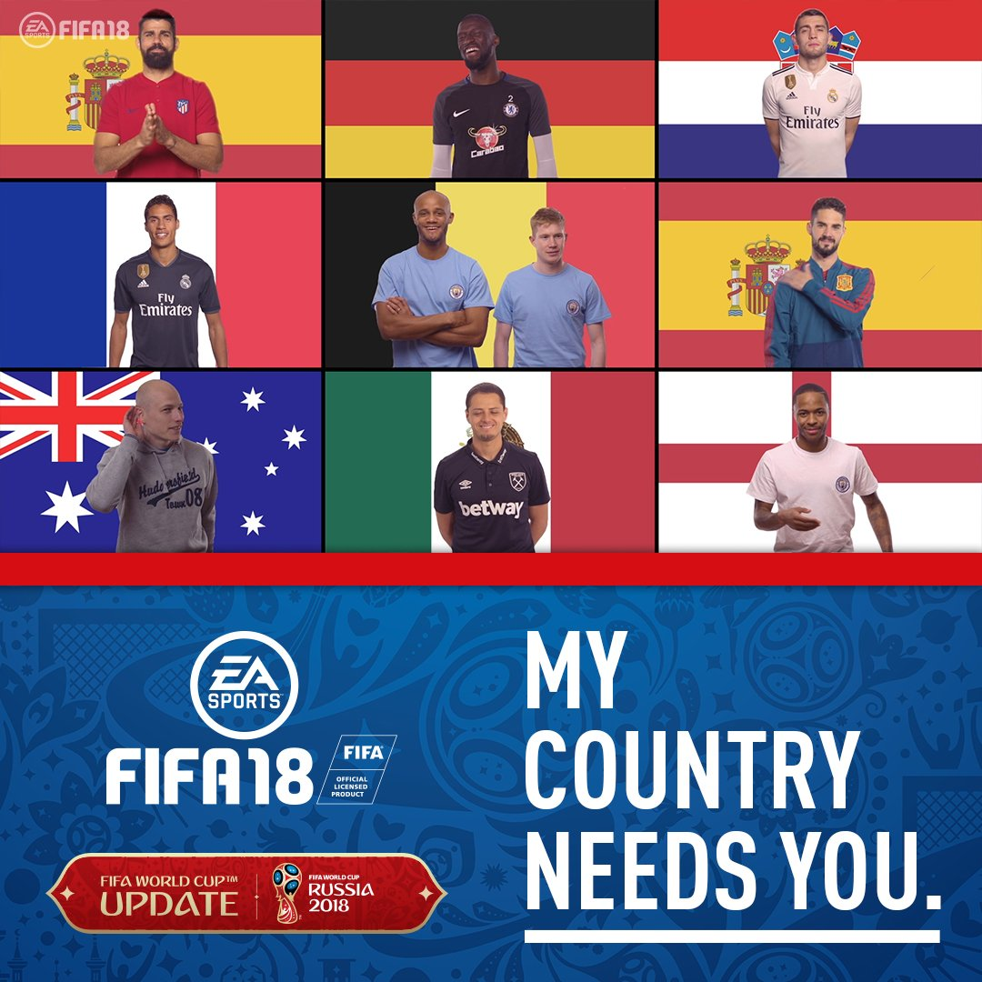 Still not chosen your #WorldCup team? These guys are here to help �� #FIFA18 https://t.co/fPYjWskBh0 https://t.co/7gfK1HkXeC