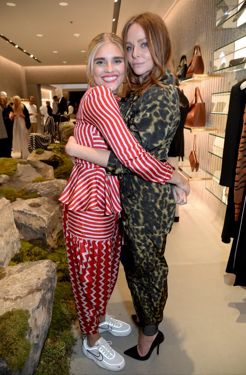 Tigerlily Taylor and Stella at the opening of our new #23OldBond Street space last nigt! https://t.co/ve7DUxMS9q https://t.co/R0vbwpCtDa