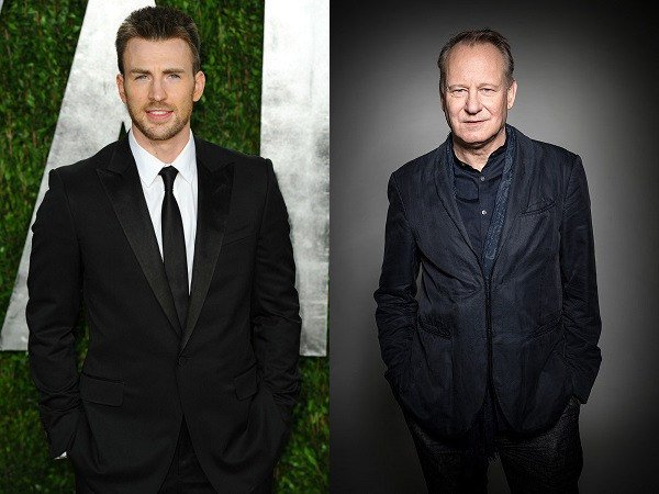 June 13: Happy Birthday Chris Evans and Stellan Skarsgård