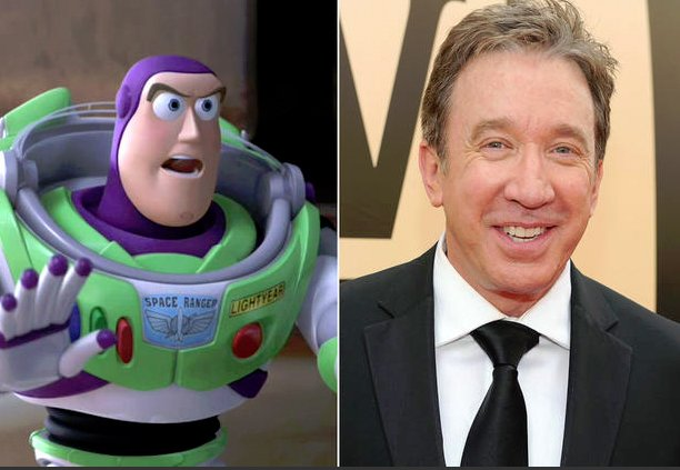 Happy 65th Birthday To Tim Allen. The Actor Who Voiced Buzz Lightyear In Toy Story