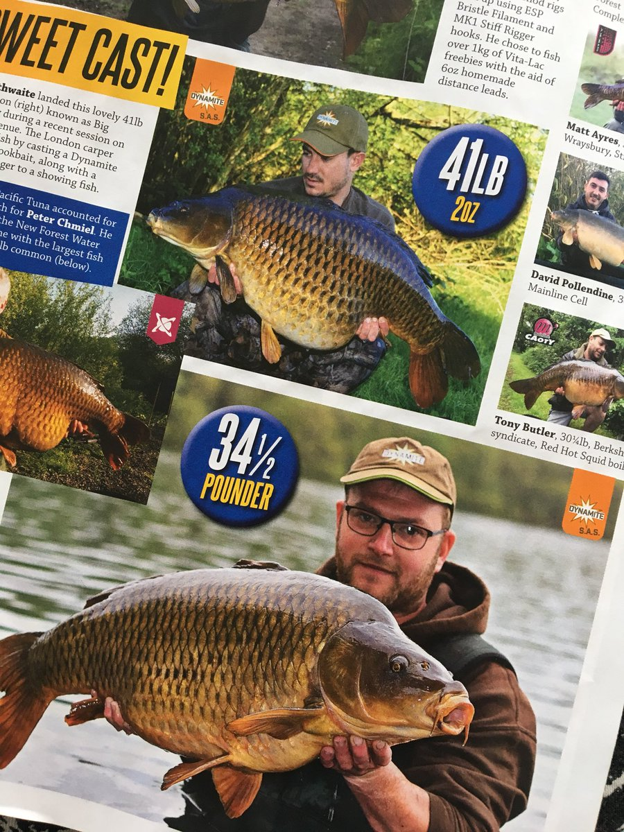 Always a joy to be in @CarpTalkMag @DynamiteBaits @atomictackleuk #carpfishing #carptalk #<b>Commonc