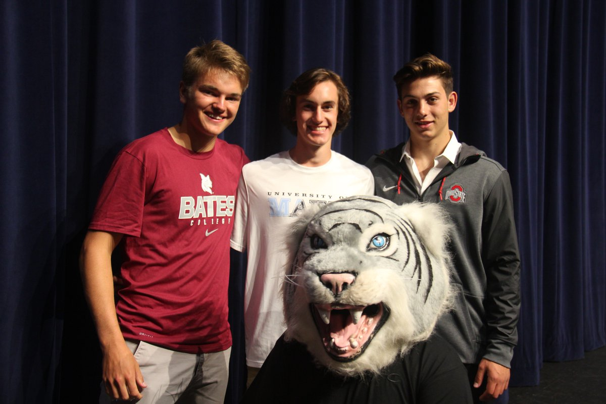 test Twitter Media - Our final college signing event of the year honors Jake (Ohio State University - Track & Field), Zach (University of Maine - Track & Field), and James (Bates College - Soccer)! Good luck guys and thanks to each of you for the magnificent way in which you represented the Wildcats! https://t.co/M7IUbuMEes