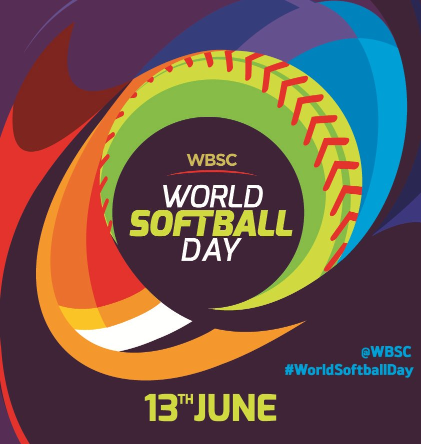 #WorldSoftballDay