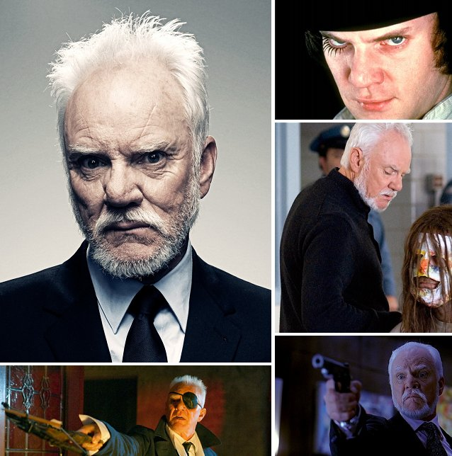Wishing the legendary Malcolm McDowell a very Happy Birthday today!