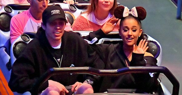 Ariana Grande and Pete Davidson are the happiest couple on Earth.