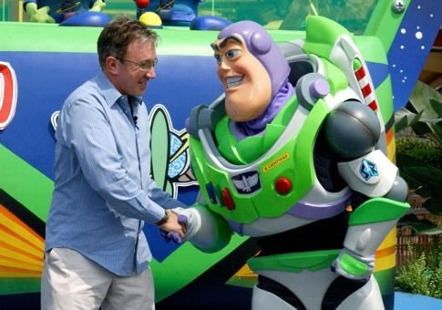 Happy birthday to Tim Allen the voice of Buzz Lightyear in Toy Story