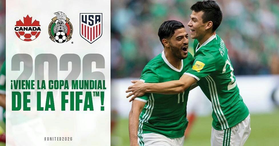 Enhorabuena a mi querido #México ya todos mis fans mexicanos, nos vemos en 2026! #WorldCup ???????? ⚽???? https://t.co/7sZxWxCBqs