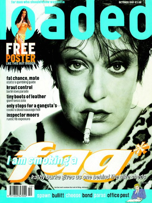 Happy birthday to Kathy Burke, born today in 1964!