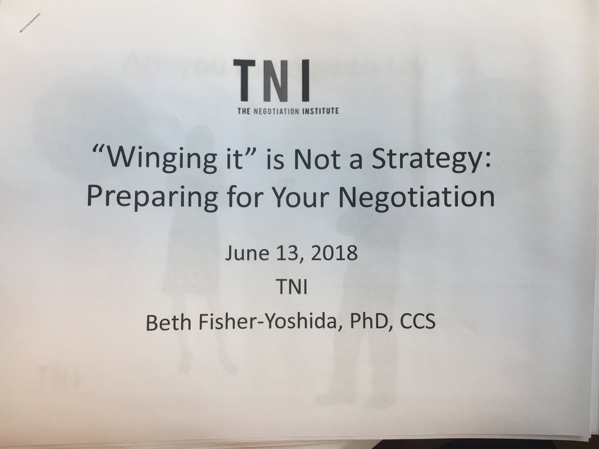 test Twitter Media - Looking forward to tonight's event!  Join us and @nyliberty TONIGHT for a Night of Negotiation with @BethFishYoshida of @negotiationcom & @CU_SPS_NECR   Topic: Winging it is not a strategy: Preparing for Your Negotiation  Sign up https://t.co/xOqj7QqXSv https://t.co/evjFqPHXTn