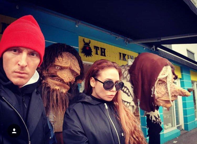Мы и наши исландские аватары!????????♂️????♀️ https://t.co/GwnRfQ8wcc