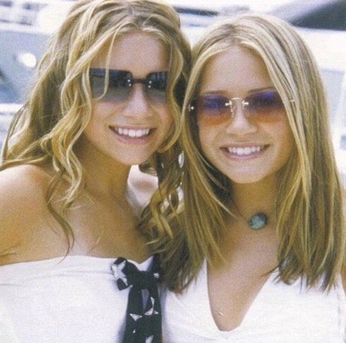 Happy birthday to mary-kate & ashley olsen , true icons of our time <3