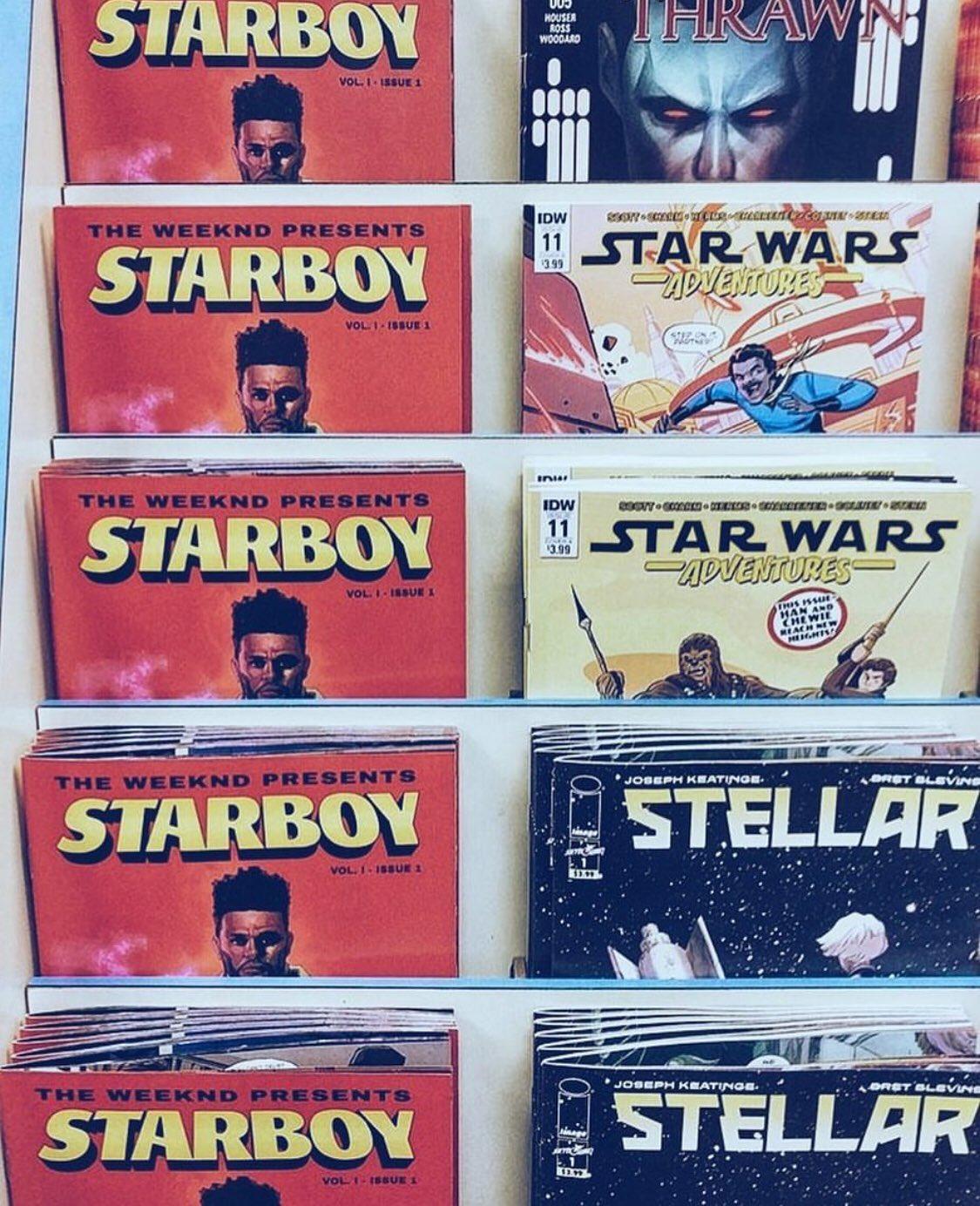 STARBOY ON COMIC STANDS @Marvel https://t.co/0JJedzOJAr