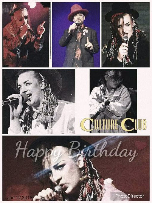 Happy birthday mi heart Boy George i love you