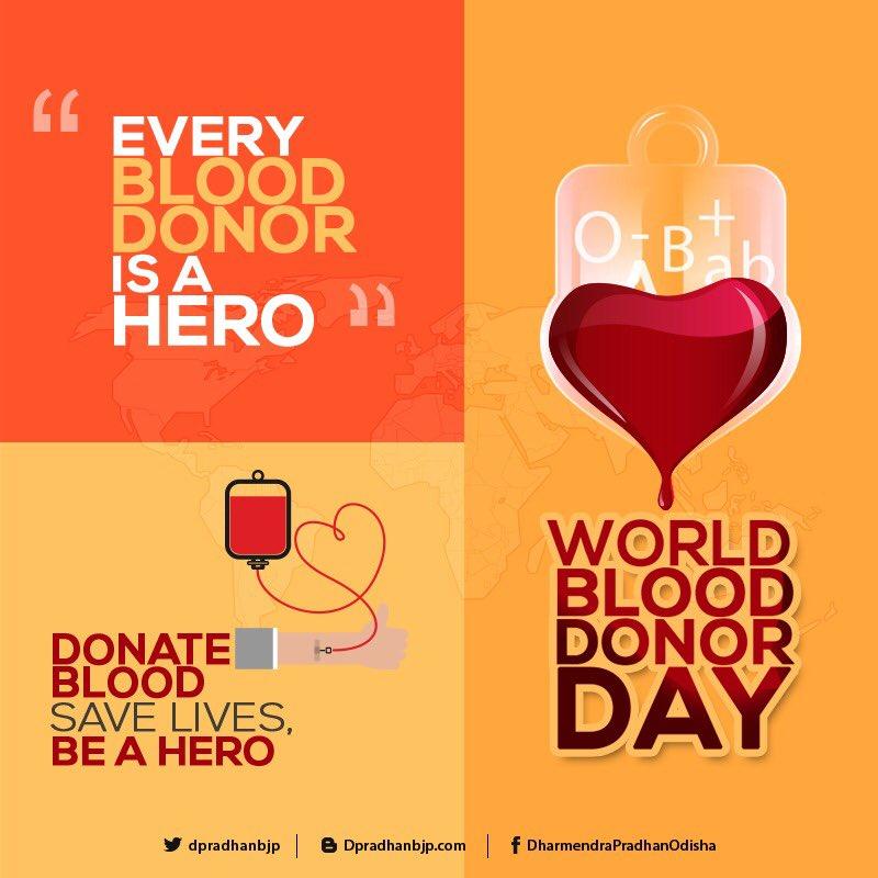 #WorldBloodDonorDay2018